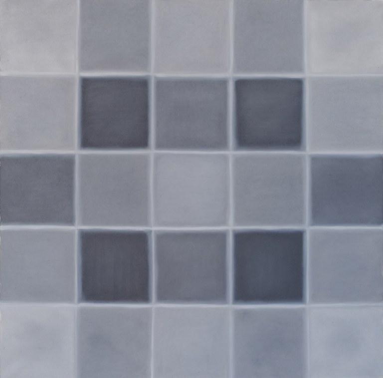 Quadrate in Grau